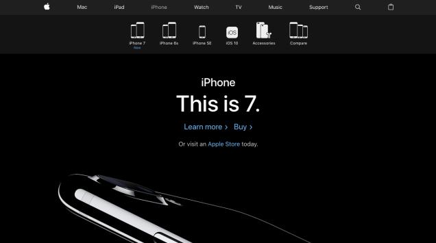 Apple Iphone 7 Website